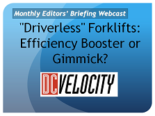 "MWPVL International Presentation - ""Driverless"" Forklifts: Efficiency Booster or Gimmick?"
