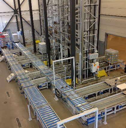 Sample Automated Distribution Facility Design