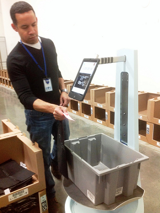 Locus Robotics Order Fulfillment at Work