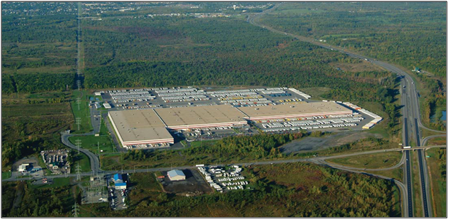 Walmart Canada's Cornwall, ON Distribution Center