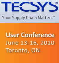 2010 TECSYS User Conference